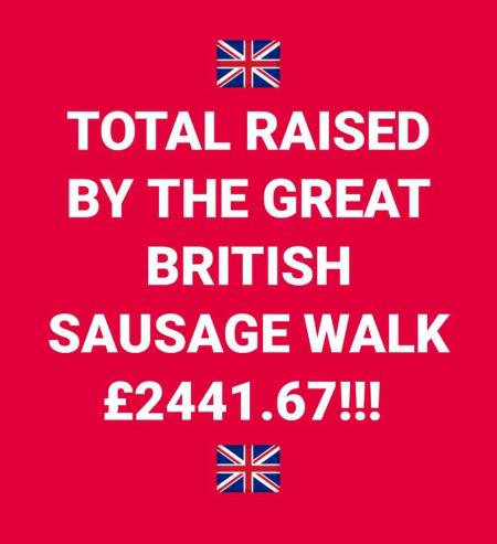 Sausage walk fundraiser 2018