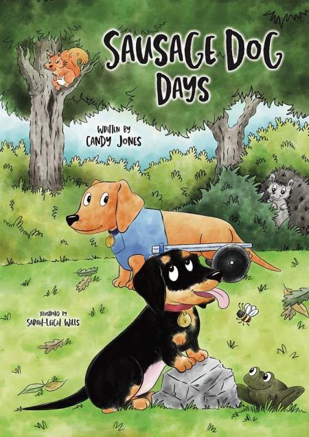 Sausage dog days - book